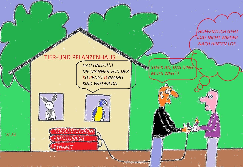 Tier-und-Pflanzenhaus