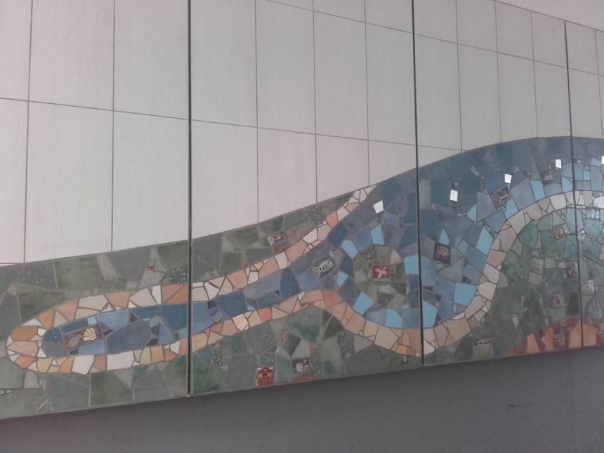 Steilshoop Durchgang Ring 2, , Mosaik, Wassermotiv, Bramfelder_See Fehlingshöhe_142415-1440