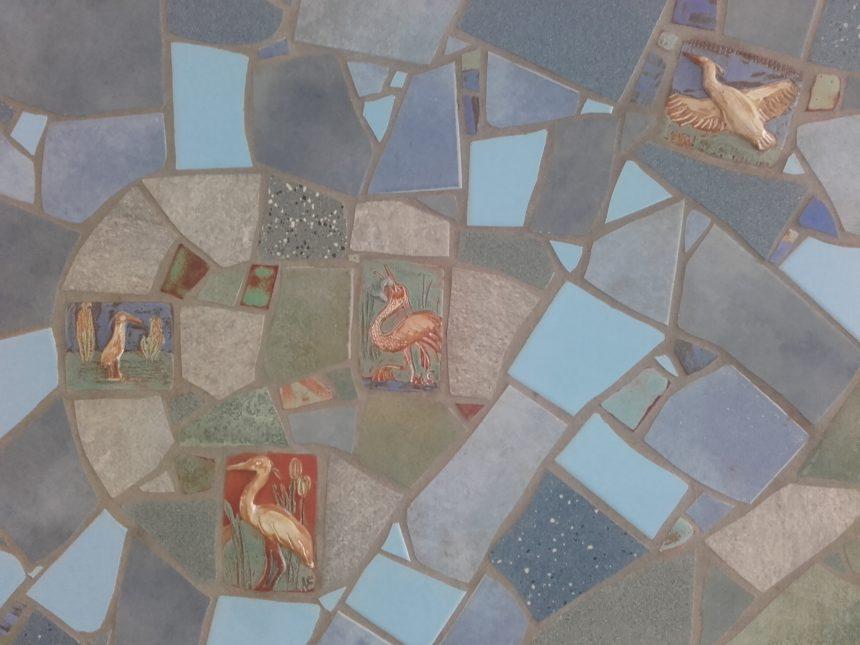 Steilshoop Tiere_Mosaik- Durchgang Fehlingshöhe 2-4