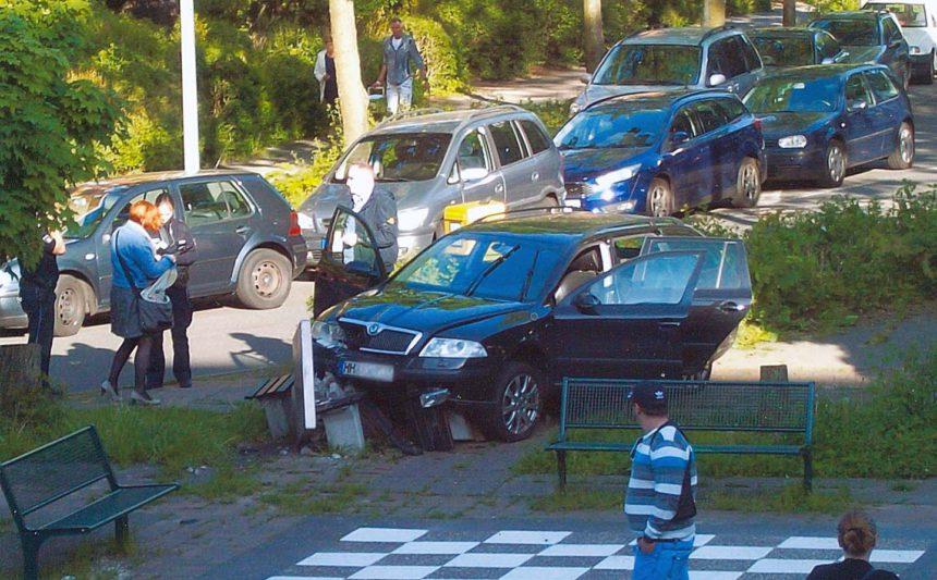 Unfall am Schachfeld