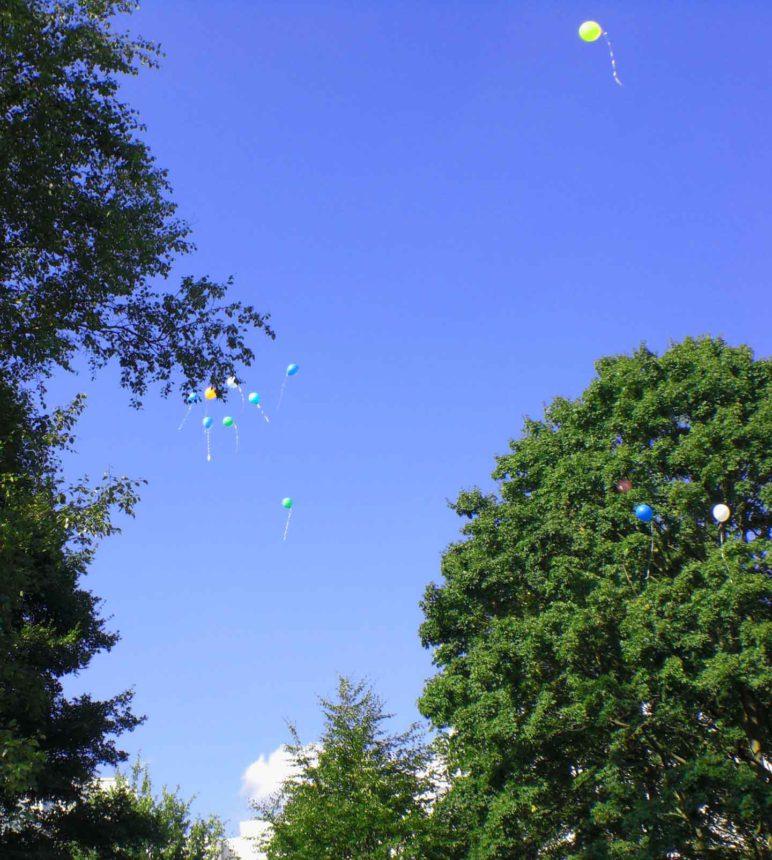 Stadtteiljubiläum. Luftballons 02